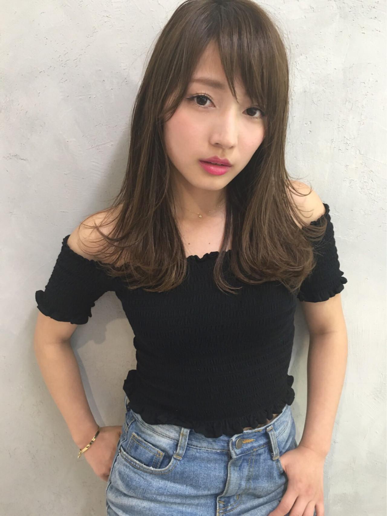 外はねワンカールなら、カジュアルなテイストに 長江 里穂子