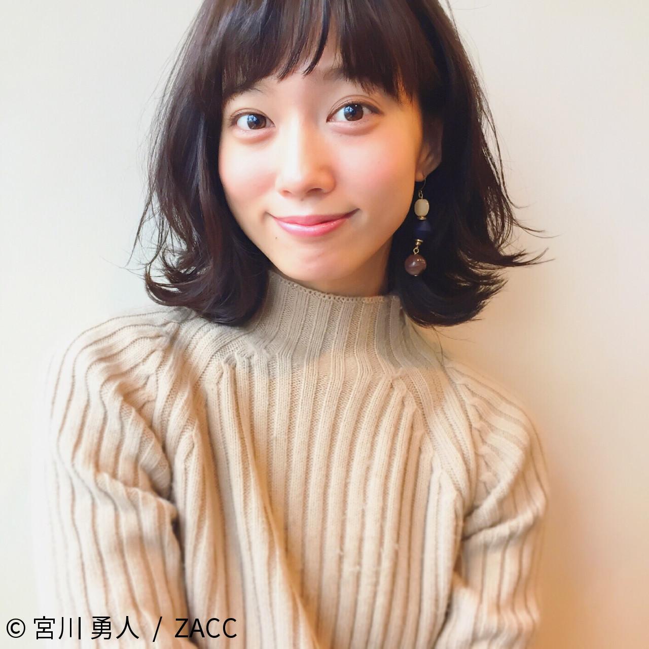 重めバングで大人かわいいミディアム 宮川 勇人 / ZACC