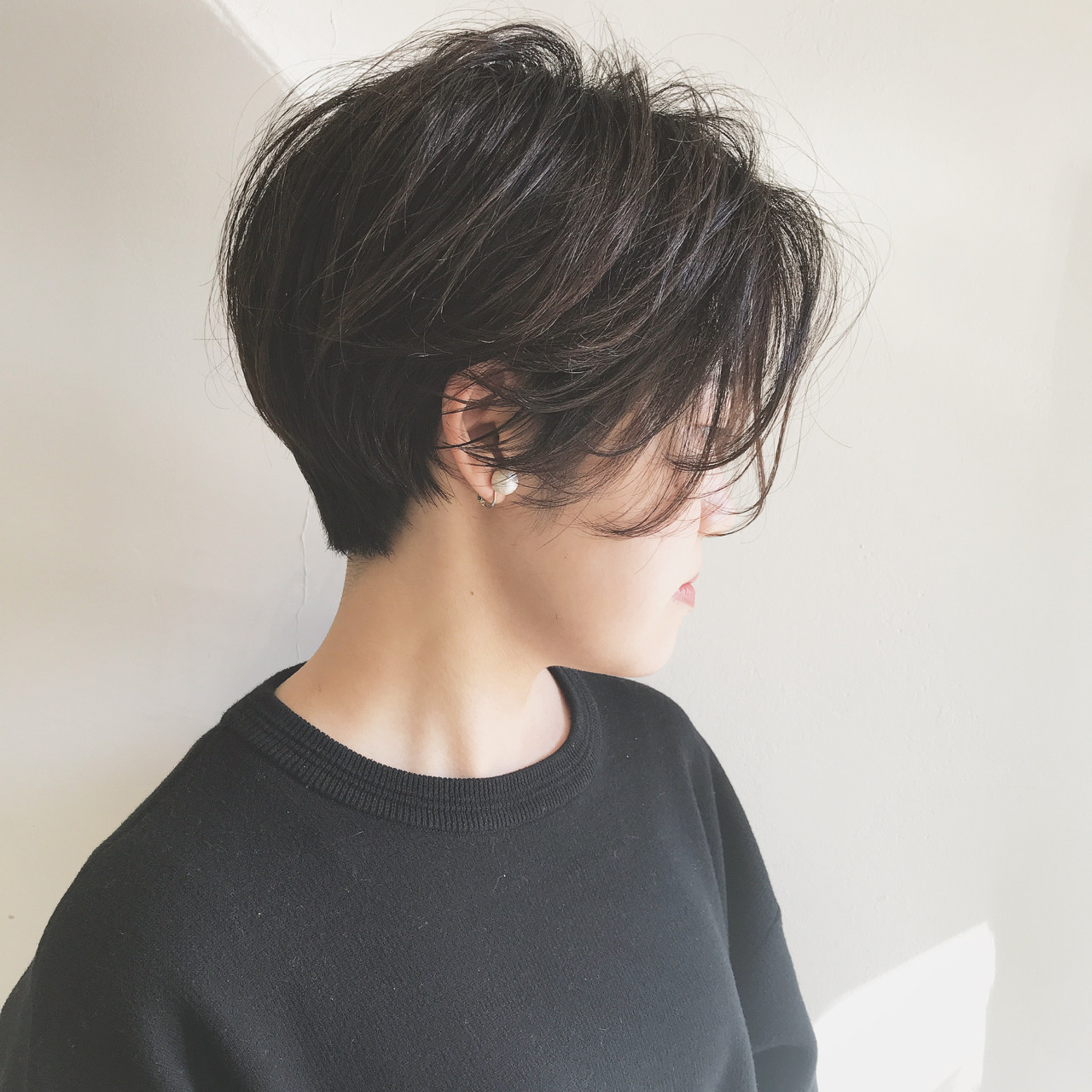 前髪長めの大人っぽショートでキマリ! 祖父江基志 | NOESALON