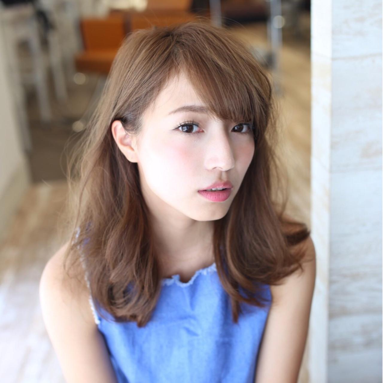 女性らしさが前面に出るヘアスタイル 長江 里穂子