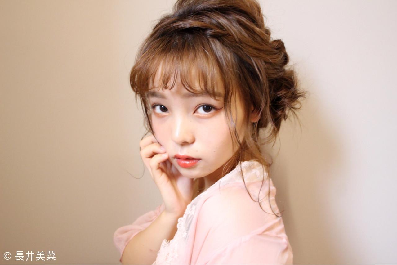 長めのラインでキュート☆な子猫のイメージに 長井美菜