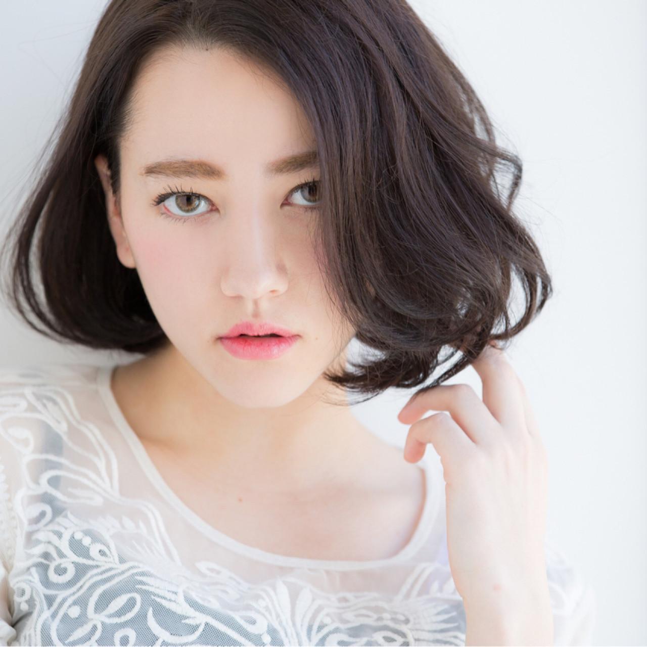 クールなゆるウェーブスタイル 【ボブ美容師】東 純平