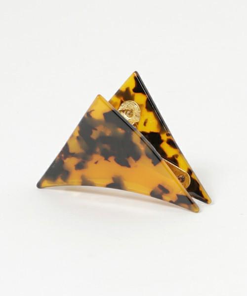 カジュアル派におすすめ三角クリップ florist