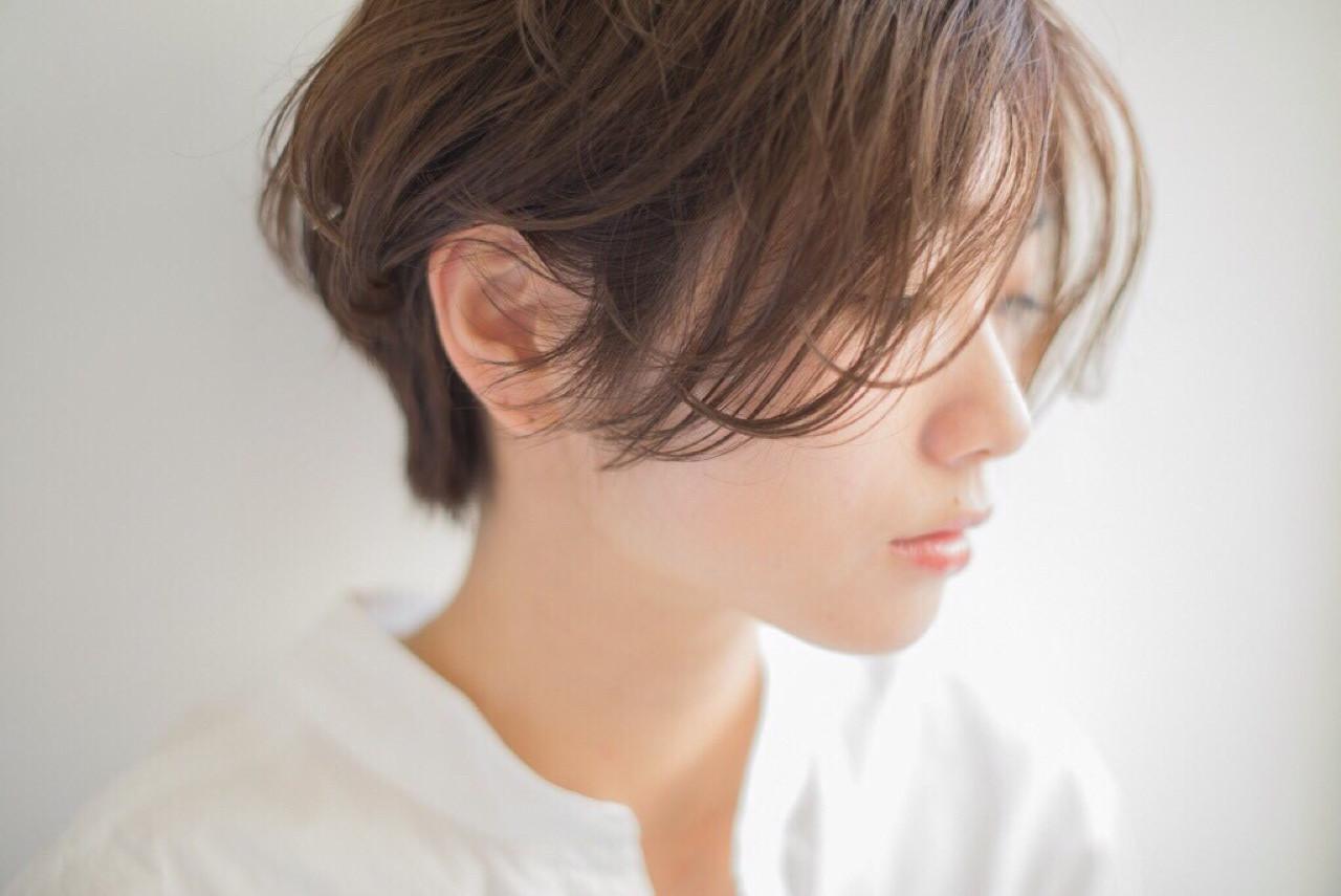 アンニュイな揺れヘアショートでオトナっぽく♡ Mari