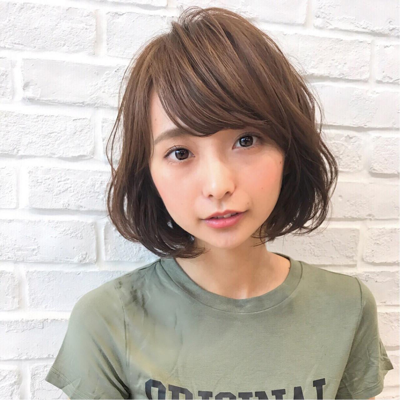 オトナかわいい愛されボブパーマ♡ 高橋苗