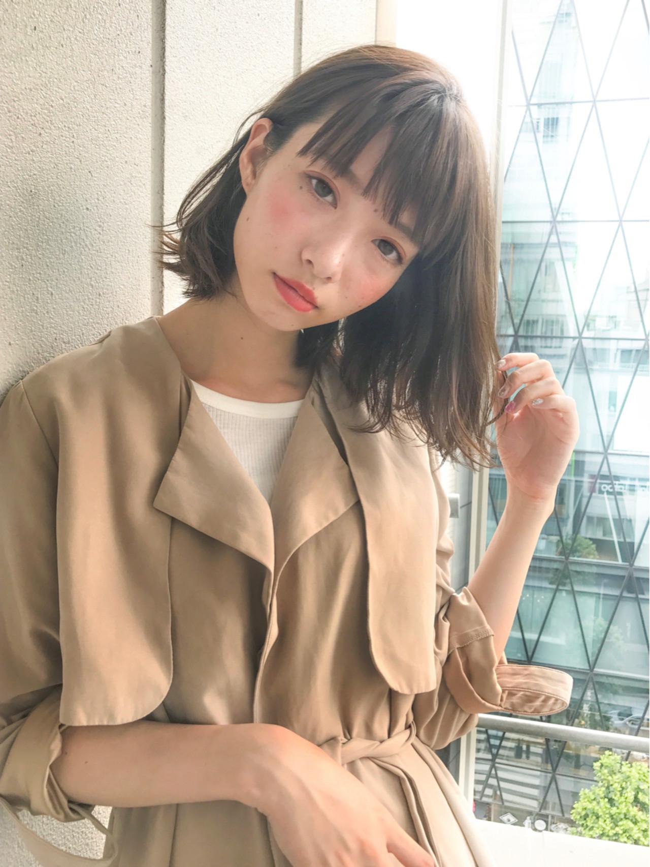 大人かわいいボブスタイル GARDEN harajyuku 細田