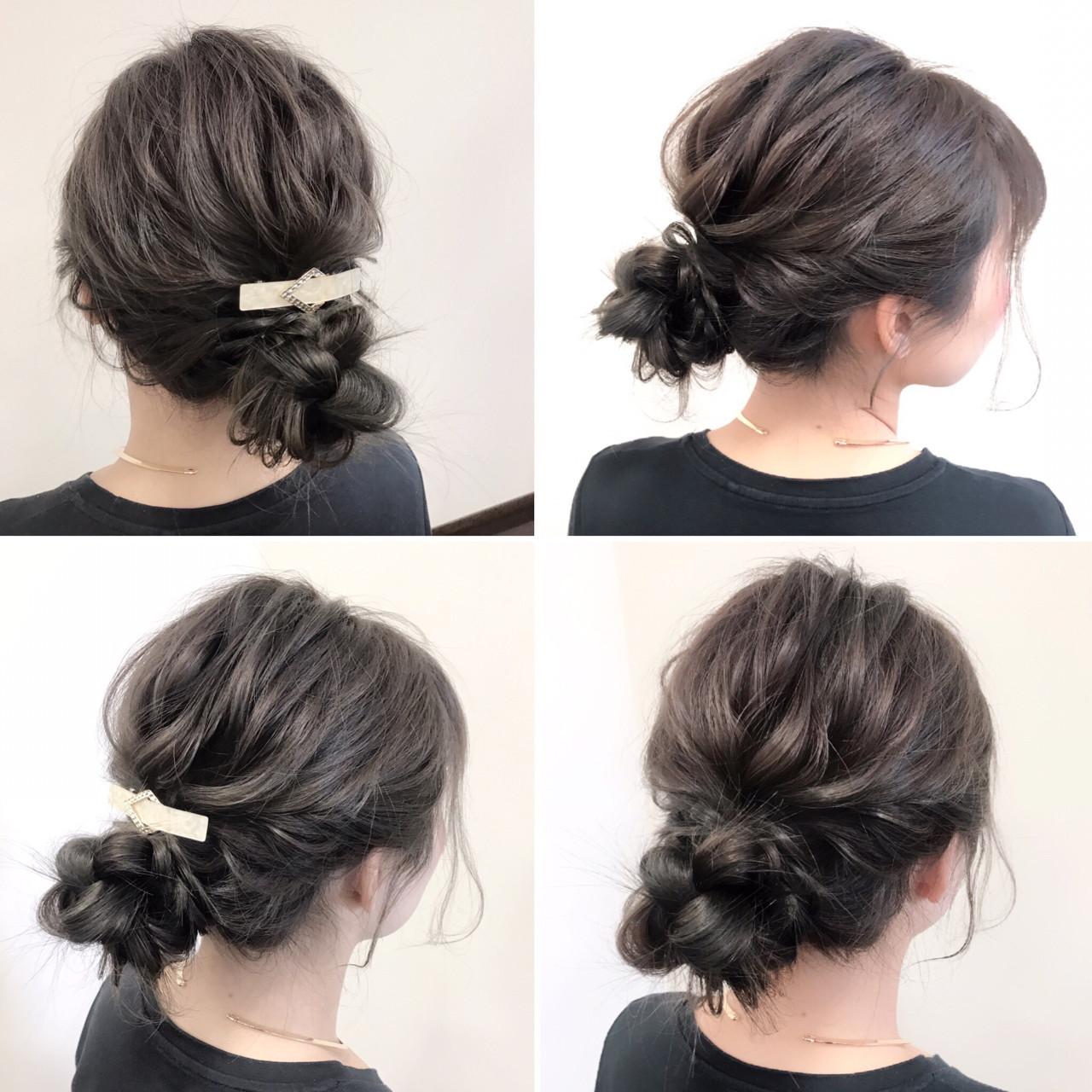 デート フェミニン 結婚式 ロング ヘアスタイルや髪型の写真・画像