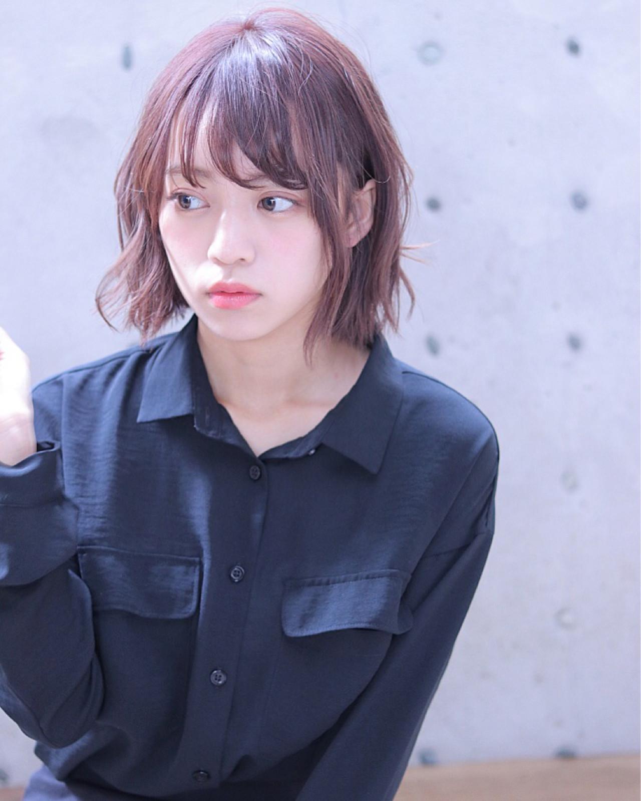 バイオレットカラーが肌をキレイ見せるスタイル Wataru Maeda