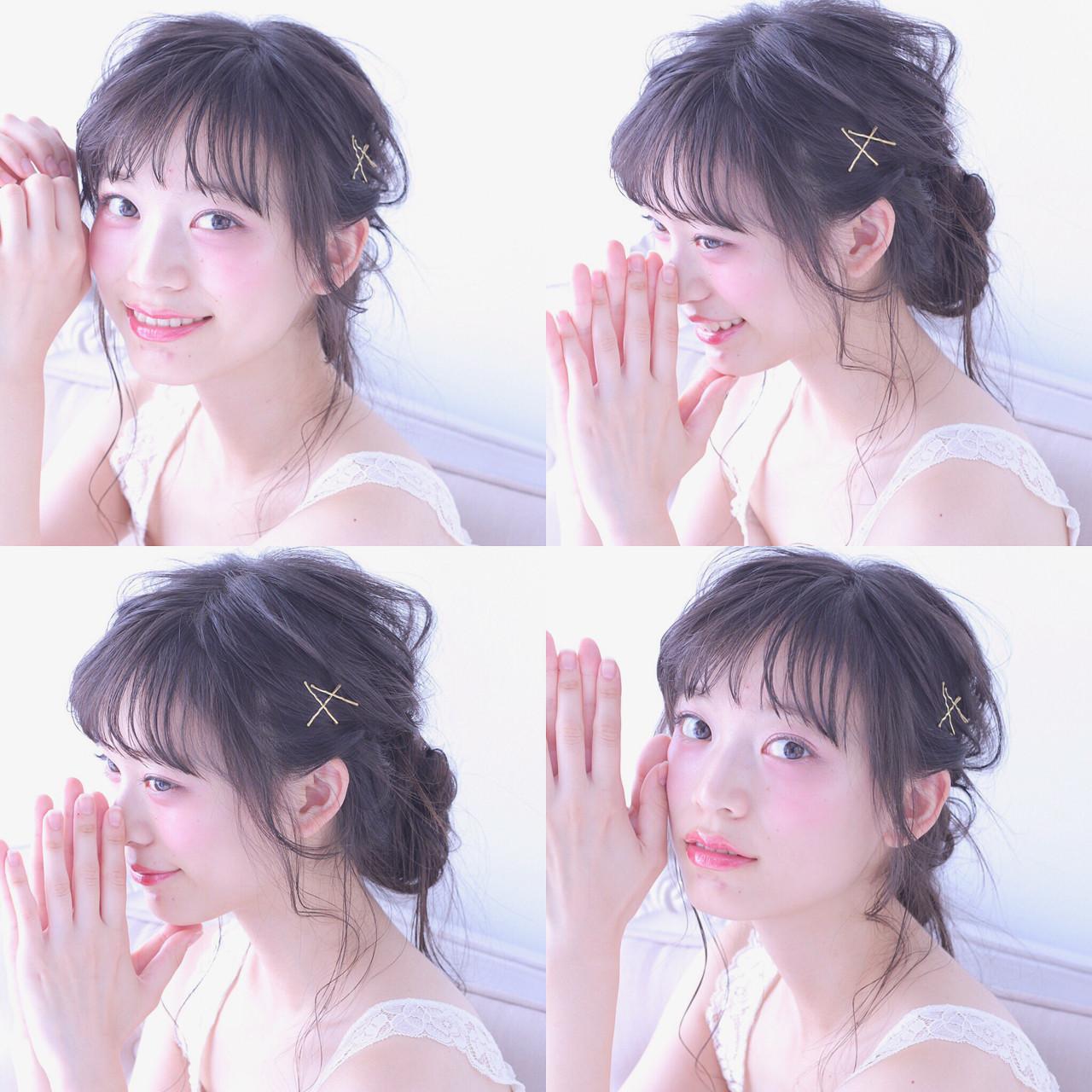 アンニュイ♡おフェロなヘアピンアレンジ Wataru Maeda
