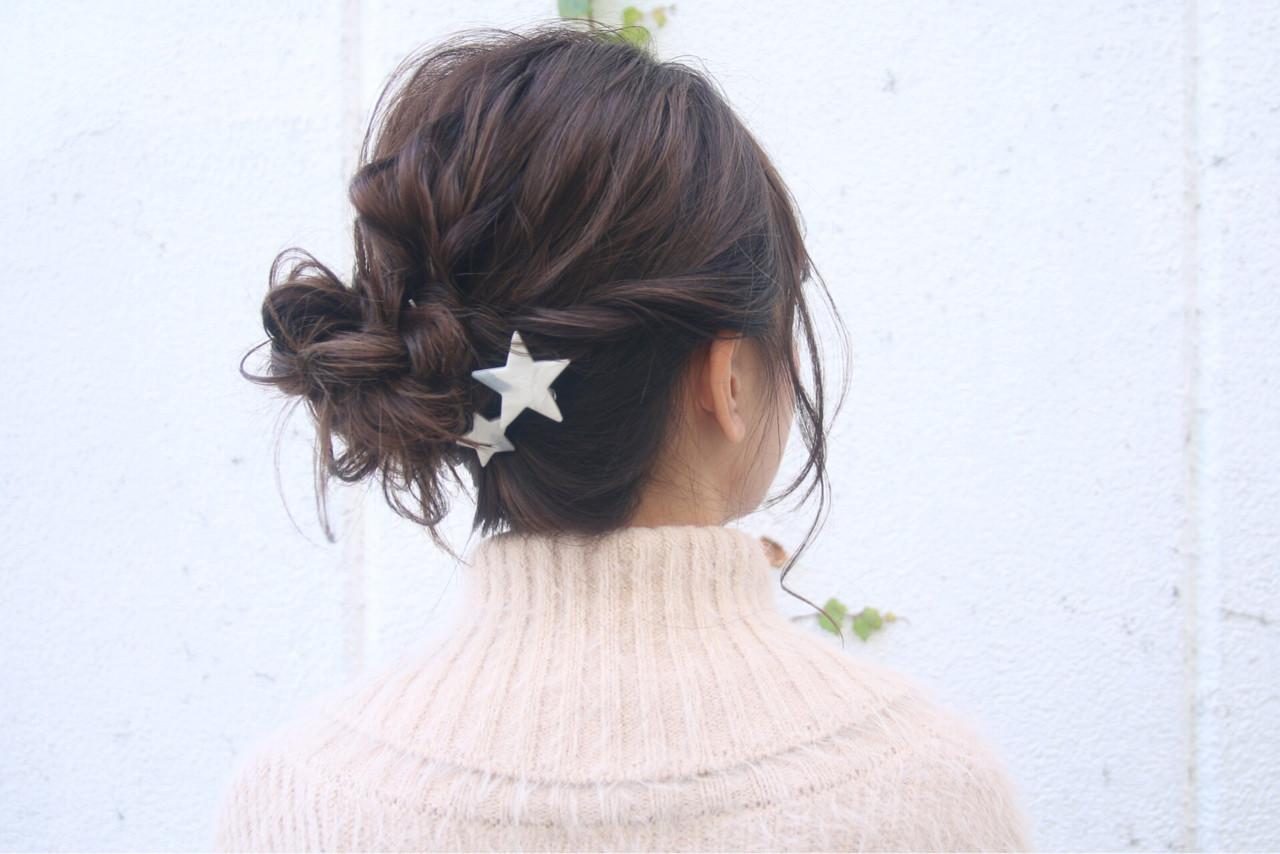 ゆるふわ 簡単ヘアアレンジ ロング 愛され ヘアスタイルや髪型の写真・画像