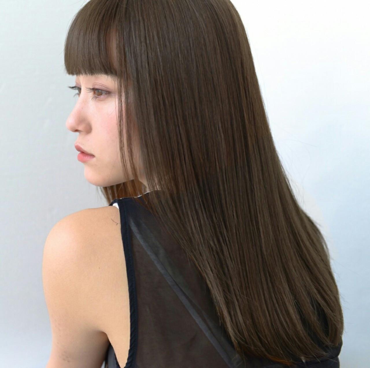 前髪なしの王道ストレートでカッコよさも 萩原 翔志也/vicca