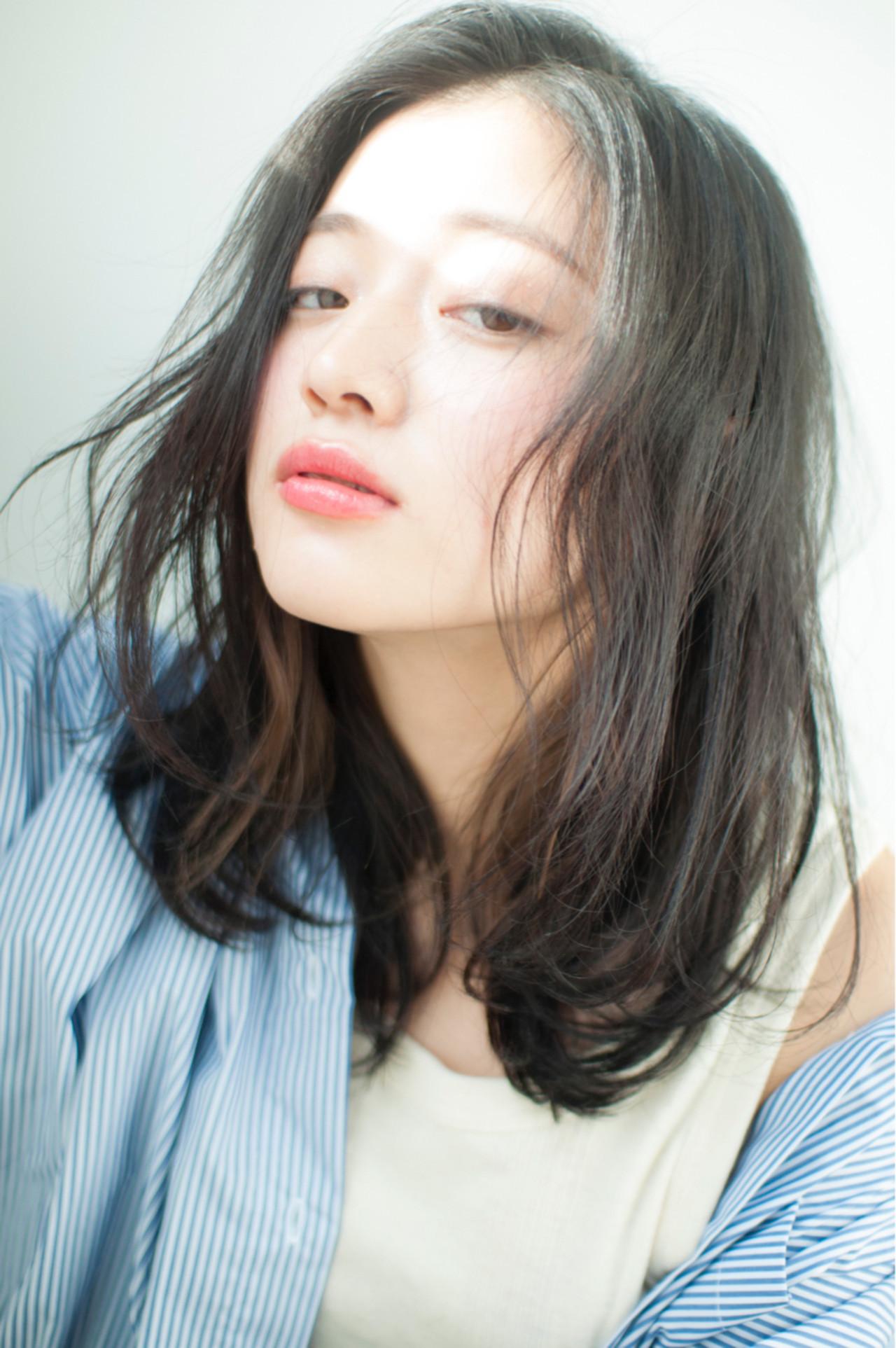 ミディアムではねない長さはどのくらい? 力石サトシ | HOMIE TOKYO