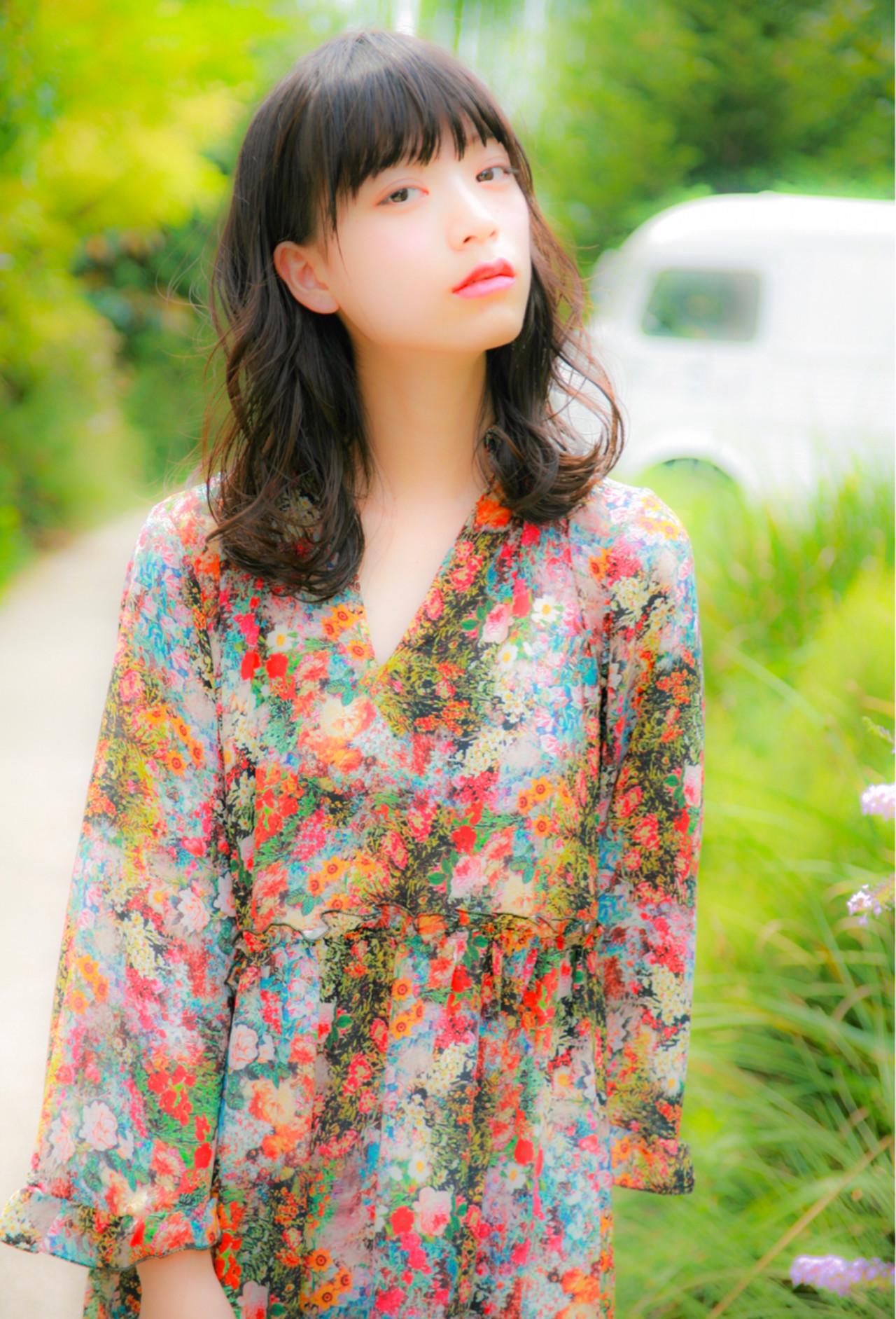 ミディアムのパーマヘアはフェミニンでオススメ♡ 佐藤 章太 | Heartim代官山