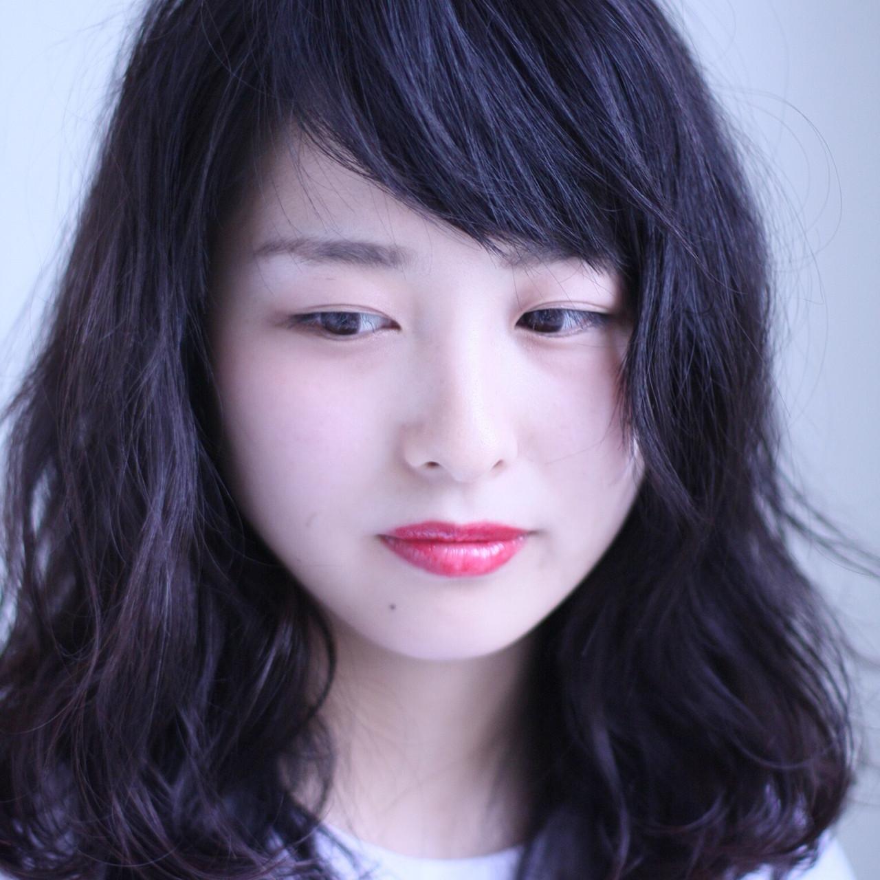 面長×おすすめヘアスタイル コバヤシ アキラ | UNI