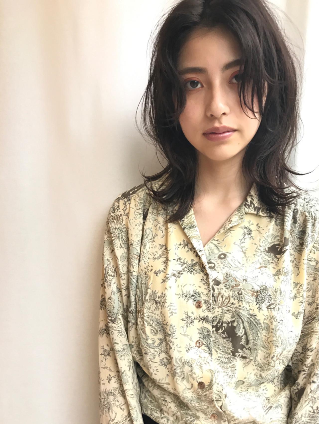 おすすめの前髪なしスタイル② 小走 祥菜 | tricca