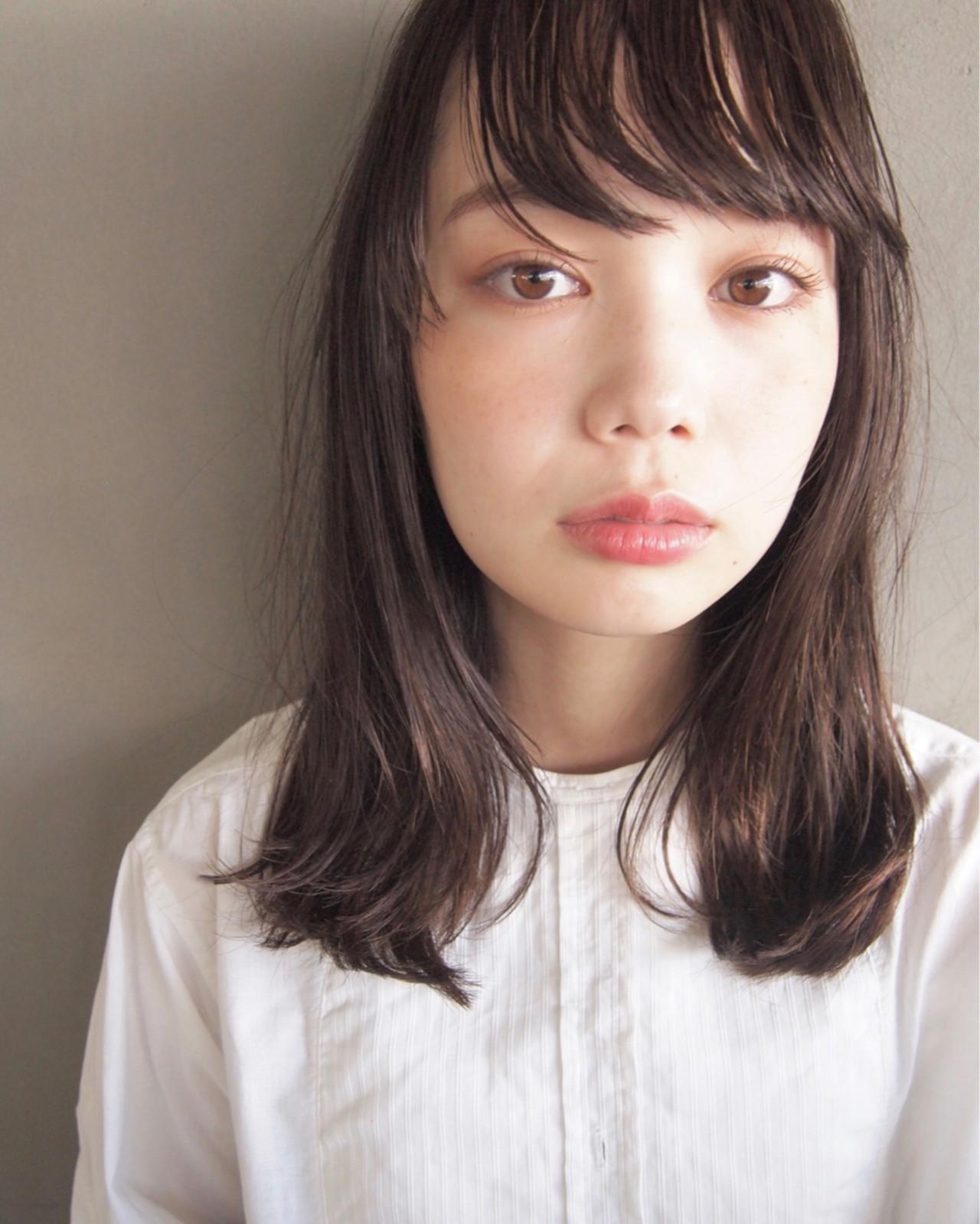 黒髪でナチュラルな印象に UEKI/nanuk