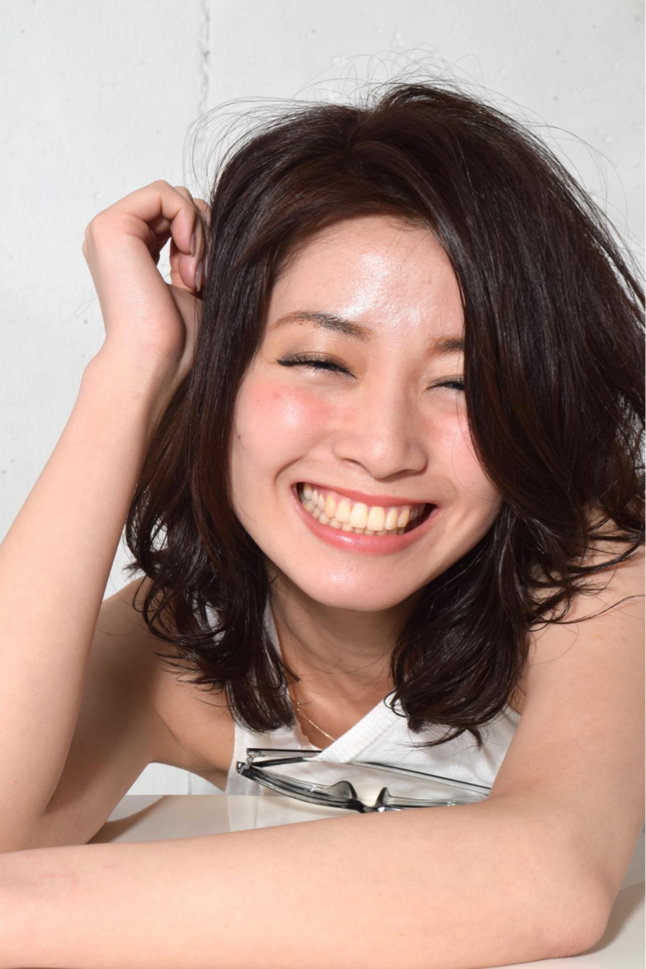 つや感たっぷり大人かわいいミディアム 鈴木 謙太
