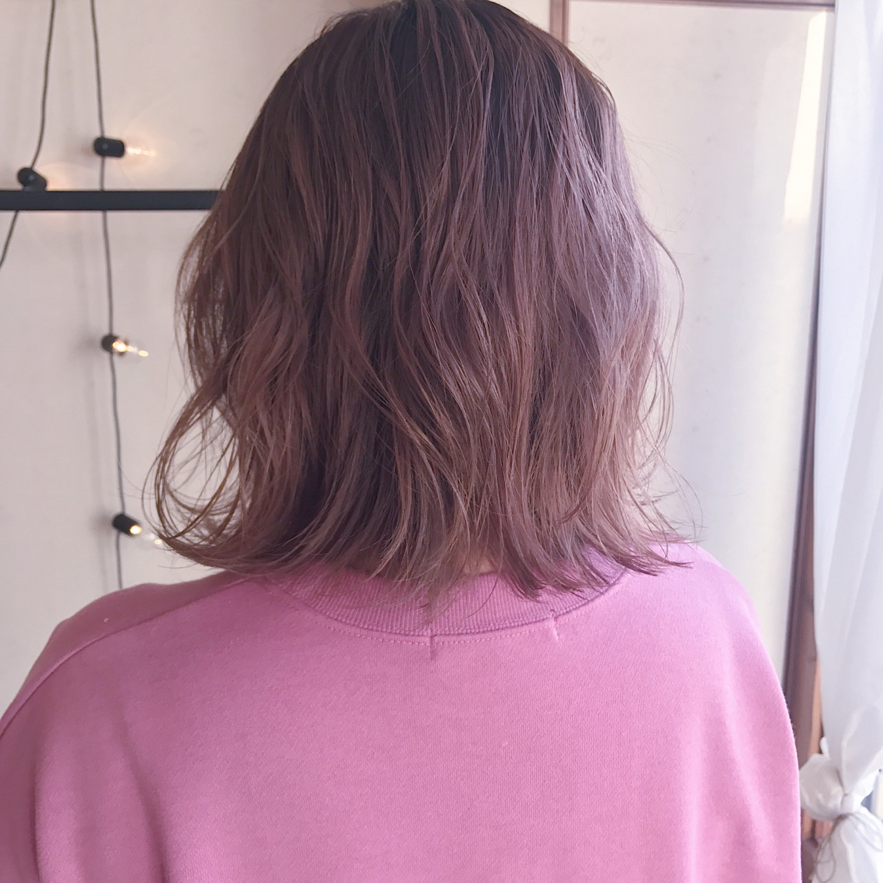 ストリート 前髪あり 切りっぱなし 抜け感 ヘアスタイルや髪型の写真・画像