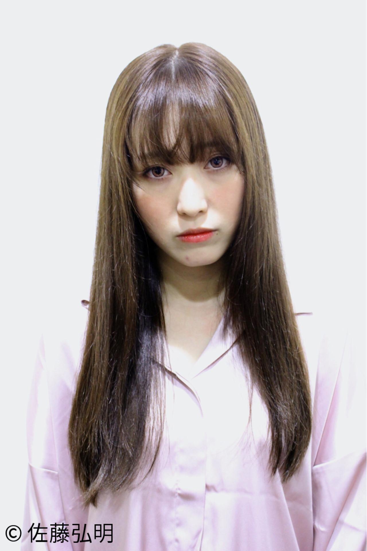 ロングストレートの髪型の芸能人といえば 佐藤弘明 | pepermoon