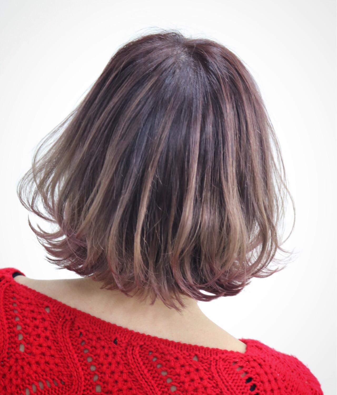 奥行きを感じさせるグラデーションヘア Yuuta Asato | HAIR&MAKE EARTH あがり浜店