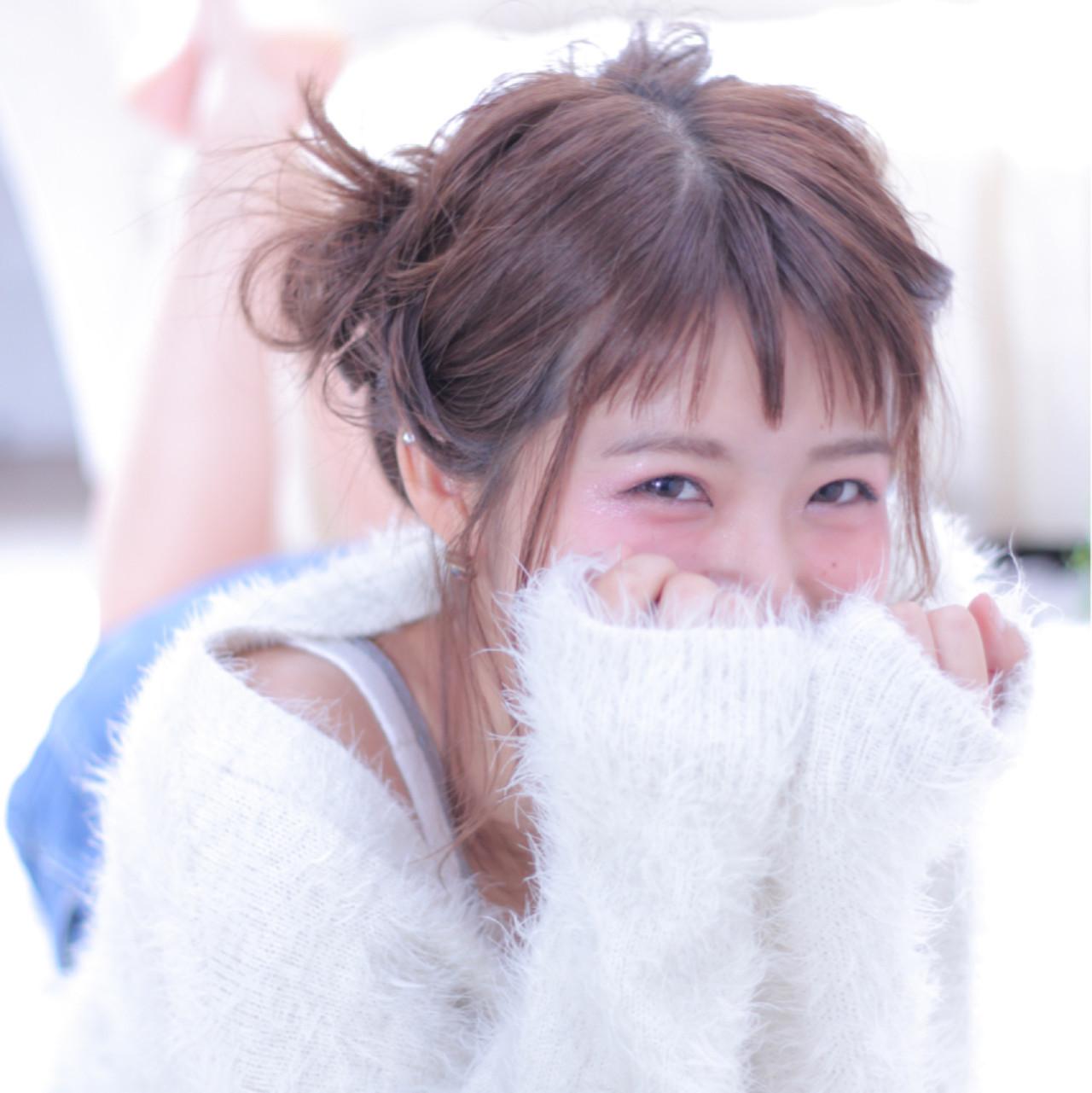 ザクザクカットが可愛いチョッピーバング♡ Wataru Maeda | cache cache