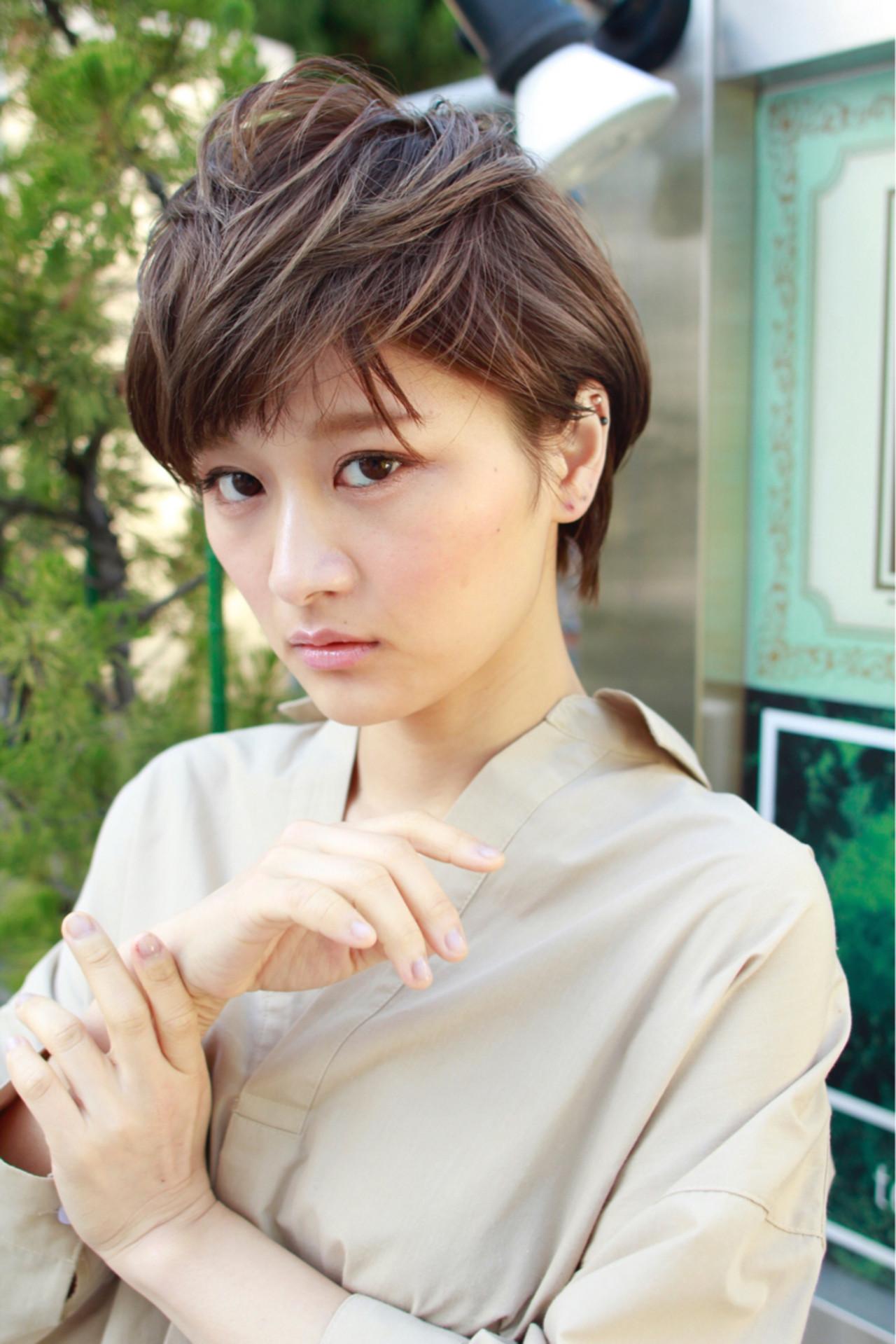 40代女性に!吉瀬美智子さん風ショートボブ 高沼 達也 / byトルネード | トルネード