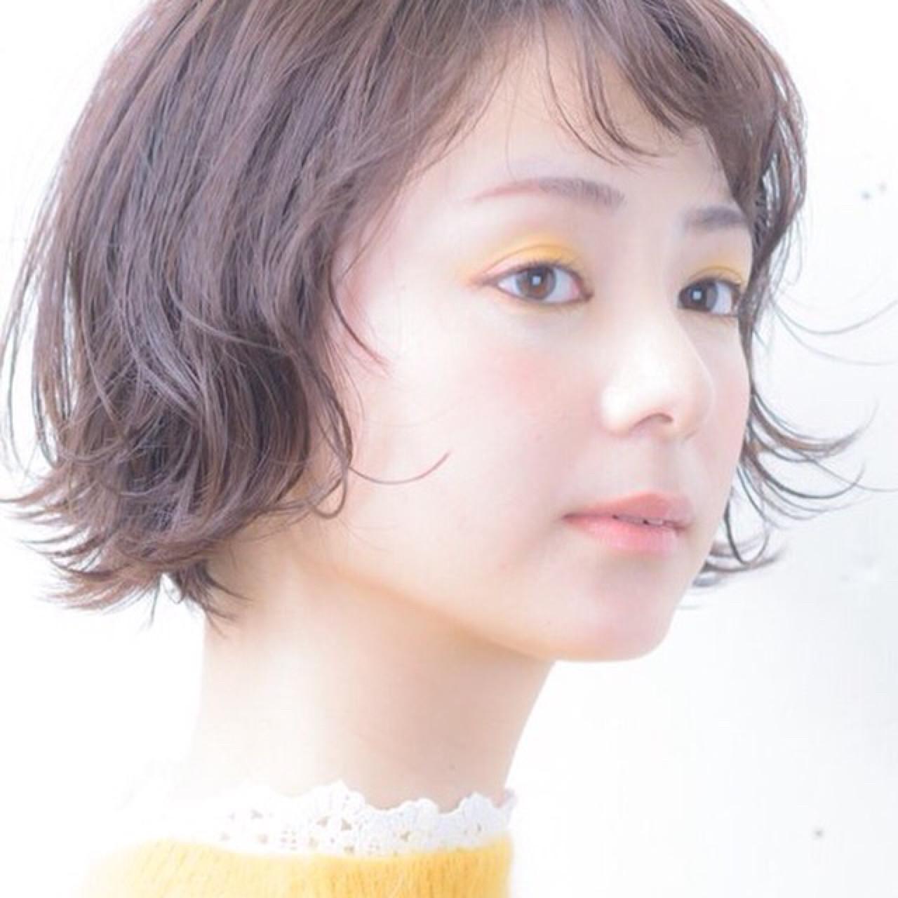 ガーリーな愛されショート 一柳 紀子 | hair salon ing (ヘア サロン イング)