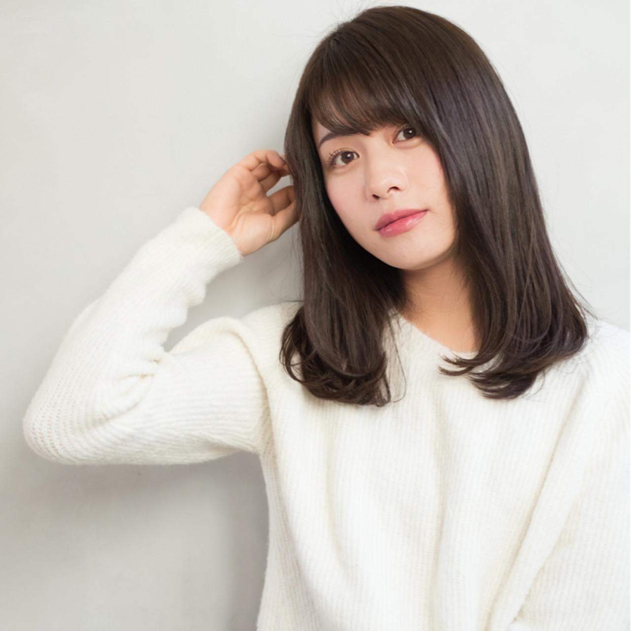 クセを防ぐ毛先ワンカールパーマ×ミディアム 東 純平 | Ramie omotesando