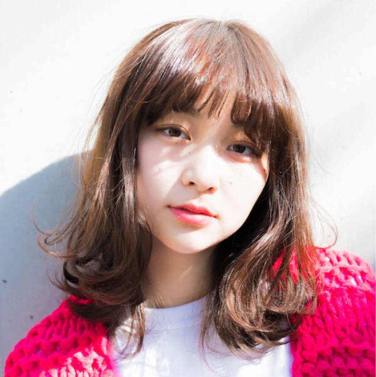 Aラインミディアムで大人可愛く♡ 竹澤 優/relian銀座 | relian銀座