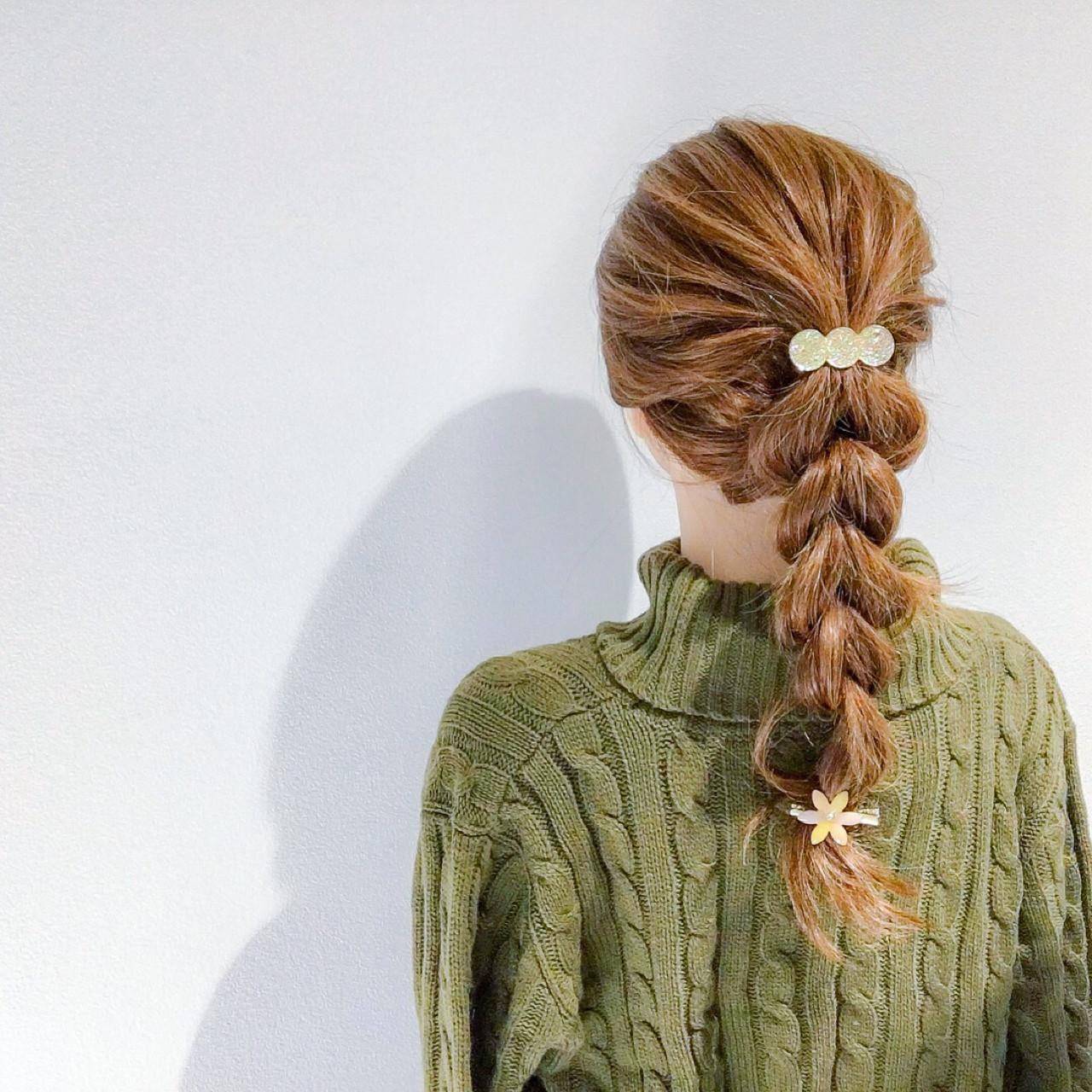 ゴムだけでできるロングの簡単アレンジヘア 美容師 HIRO | Amoute/アムティ