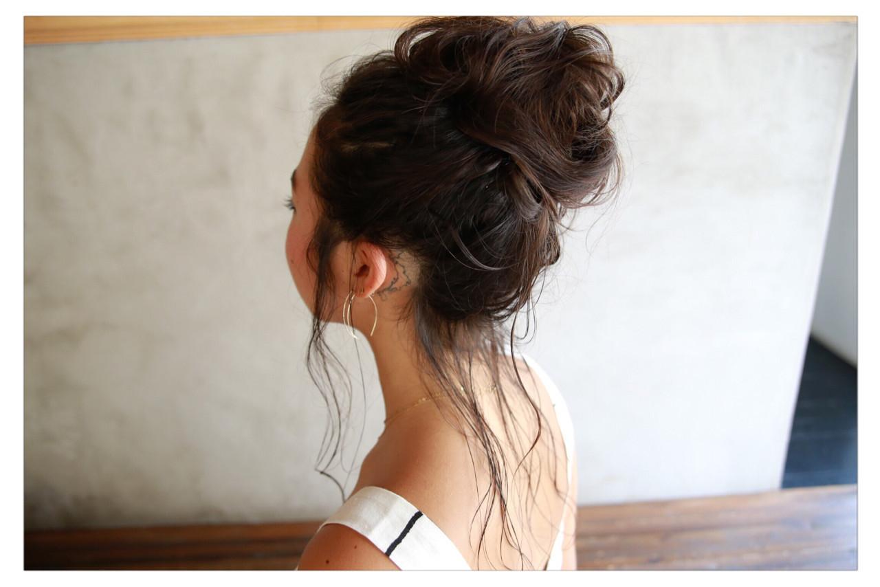 アンニュイなロングの簡単アレンジヘア 小野 圭介 | Salon de SADAM (サロン ド サダム)