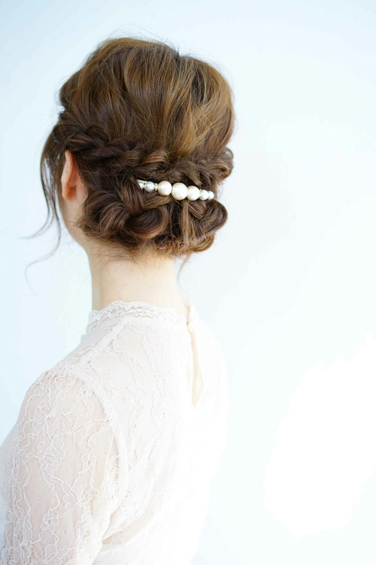 三つ編み×ギブソンタックの上品スタイル Ciel Hairdesign 代表 今田 亮 | Ciel Hairdesign(シエルヘアーデザイン)
