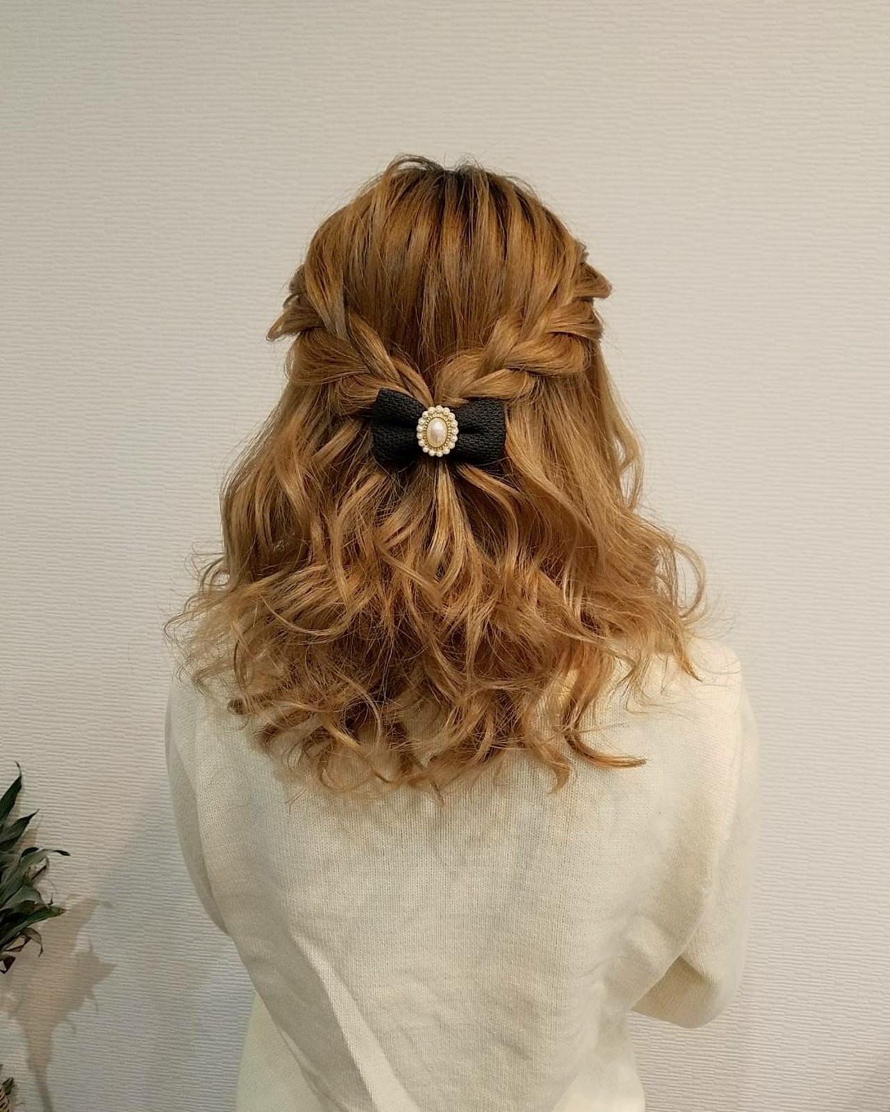 後ろ側の編み込みの仕方 mai | HAIR SALON STELLA