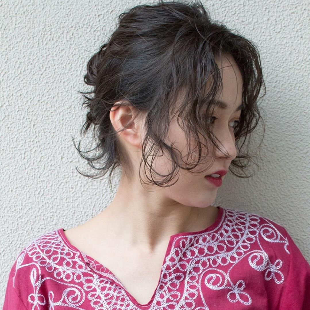 前髪なしで大人っぽヘアアレンジ♡脱マンネリスタイル特集!