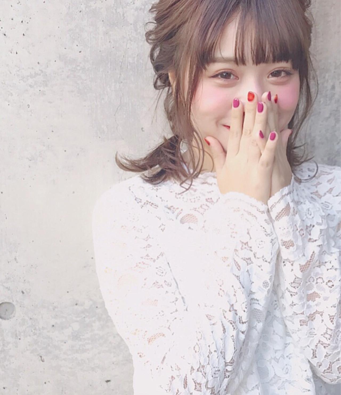 簡単アレンジで抜群の可愛さ♡ Wataru Maeda