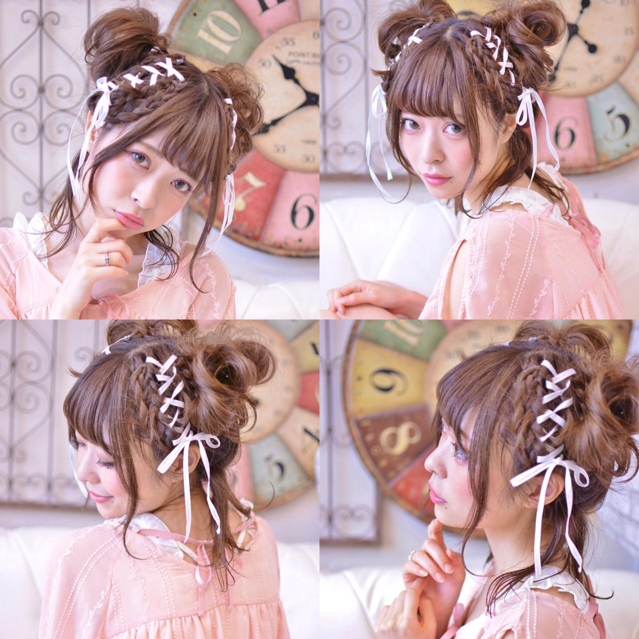 可愛さ満点◎Girlyなリボンアレンジ Shiko Kajihara