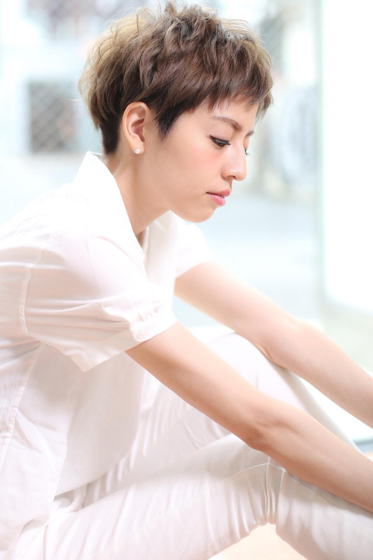 色白ならよりスマートにキマってくれる♪ カットの匠☆ショートヘアマスター『江藤 公次』 | atreve/アトレーヴ