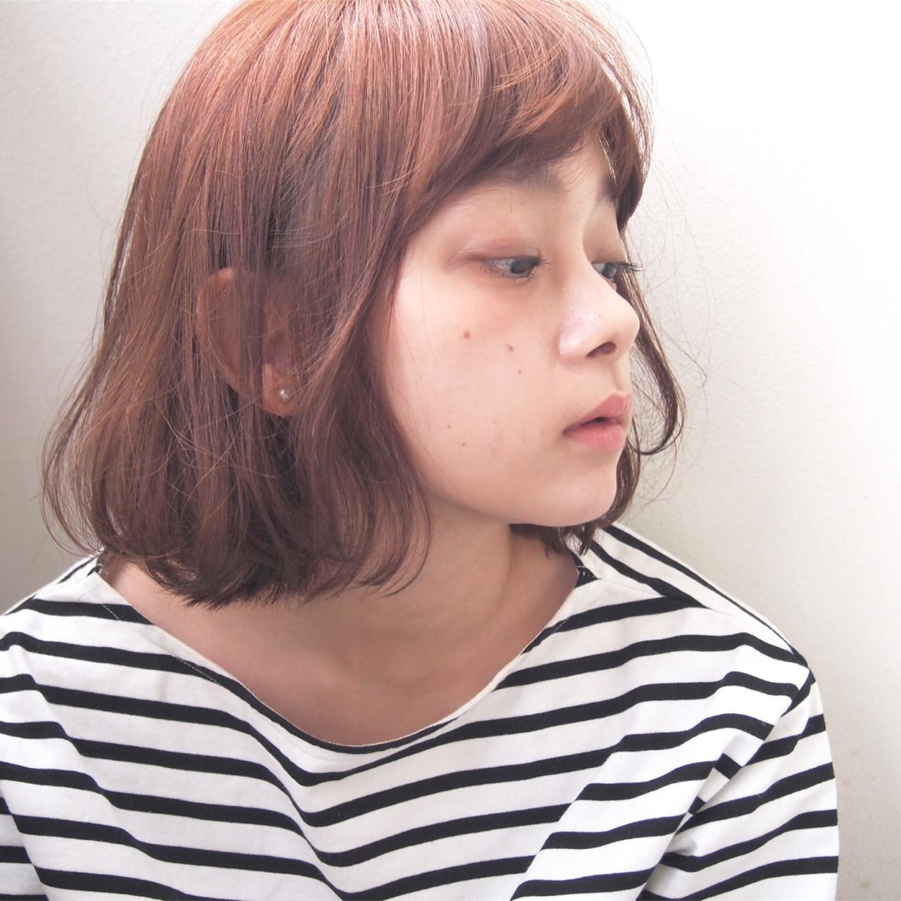 オレンジヘアカラーが似合う人って? UEKI/nanuk