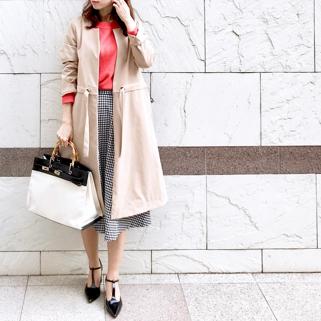 2day:ギンガムチェックスカートは大人っぽく♪ 出典:soliabe5787