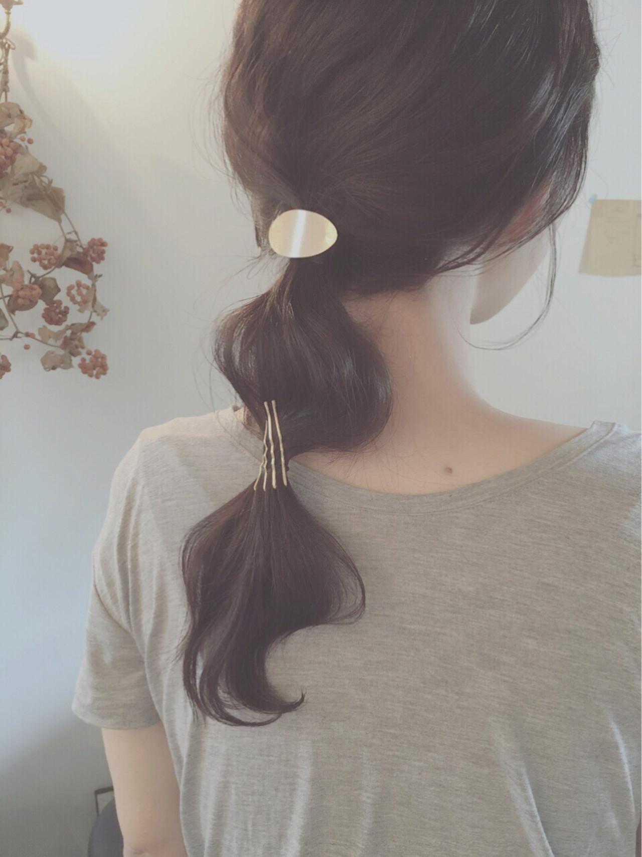 オフィスもOK。30代のポニーテールアレンジ♡ 岩井祐美子 ALICE