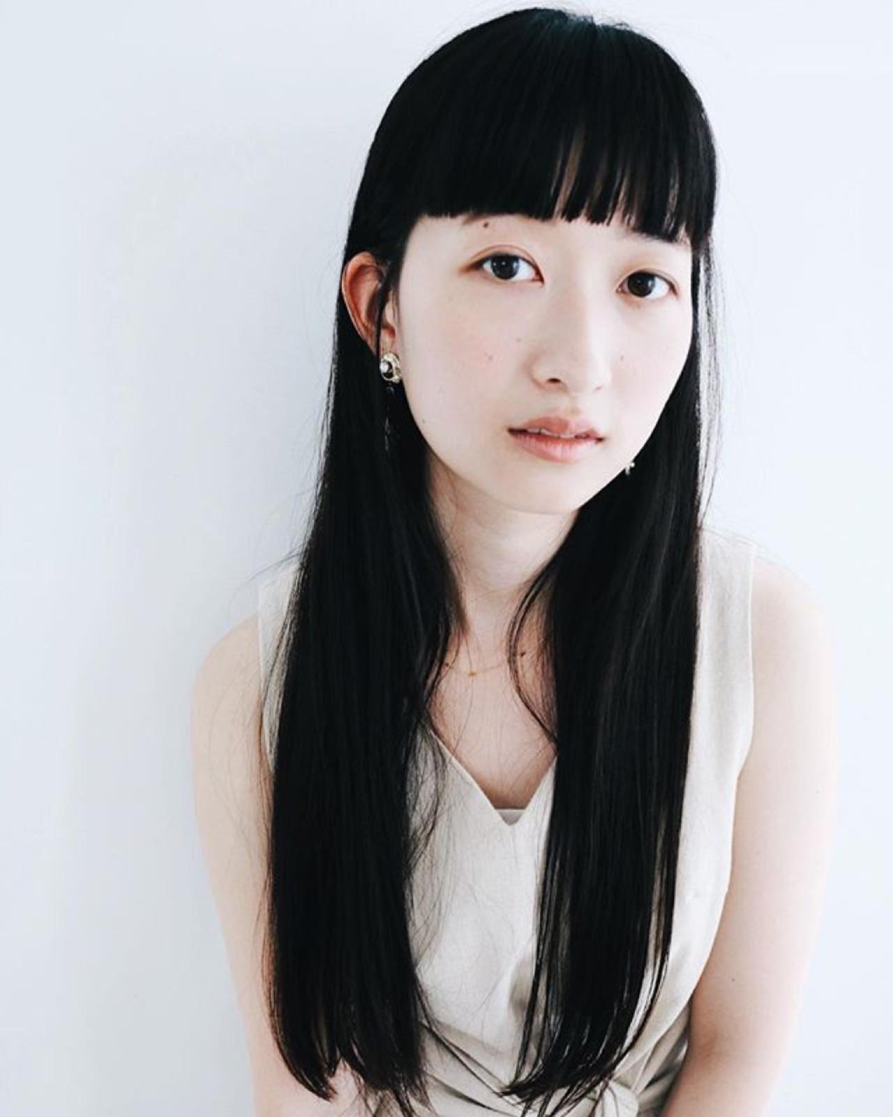 定番♪日本人女性の似合わせ黒髪ロングストレート 丸山悟