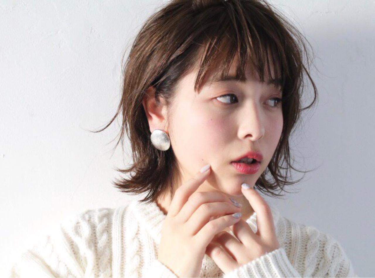 耳かけ×はねるサイドで明るい女性になれる! ナカヤマアツヒト | hair produced by LouLou
