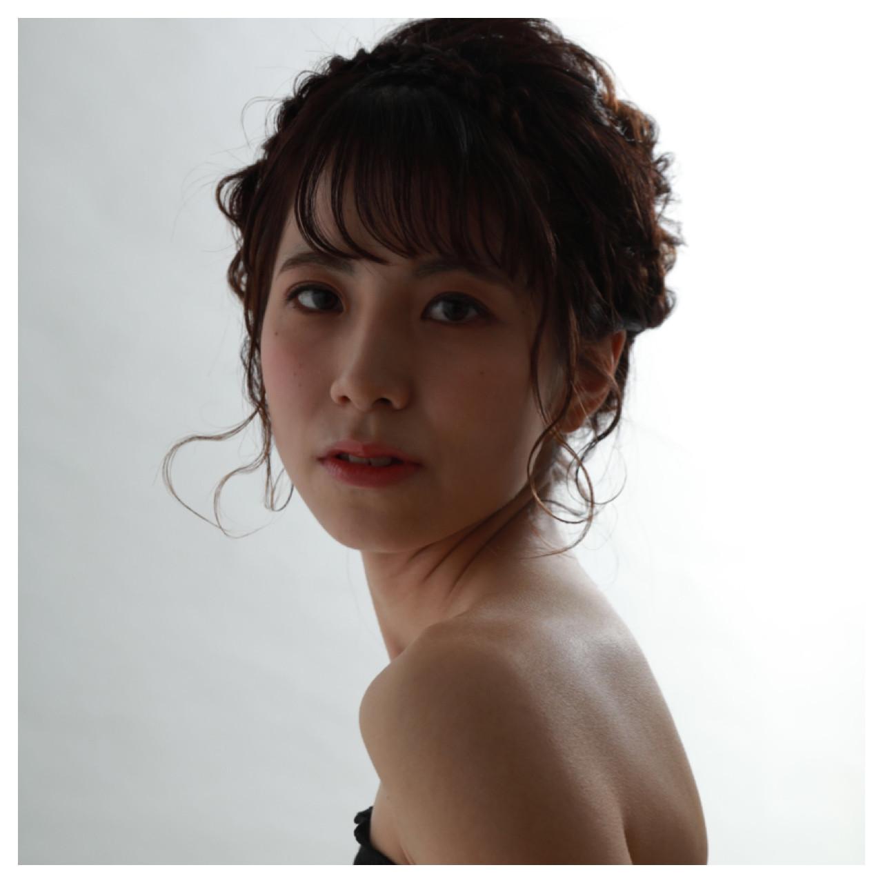 前髪にうぶっぽさを演出!人気のシースルーバング 宮崎加奈 | VISAGE GINZA