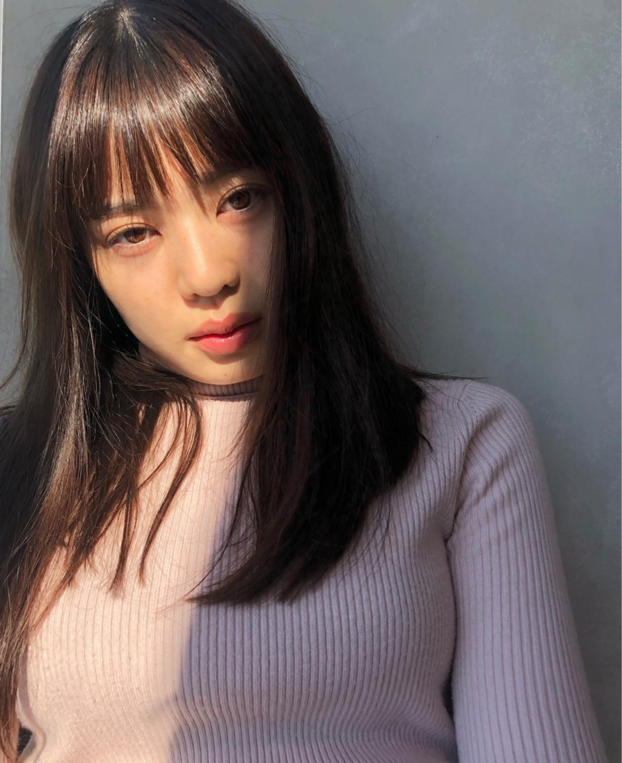シャギーを入れて軽やかに♡カジュアルロングヘア☆ 磯田 基徳
