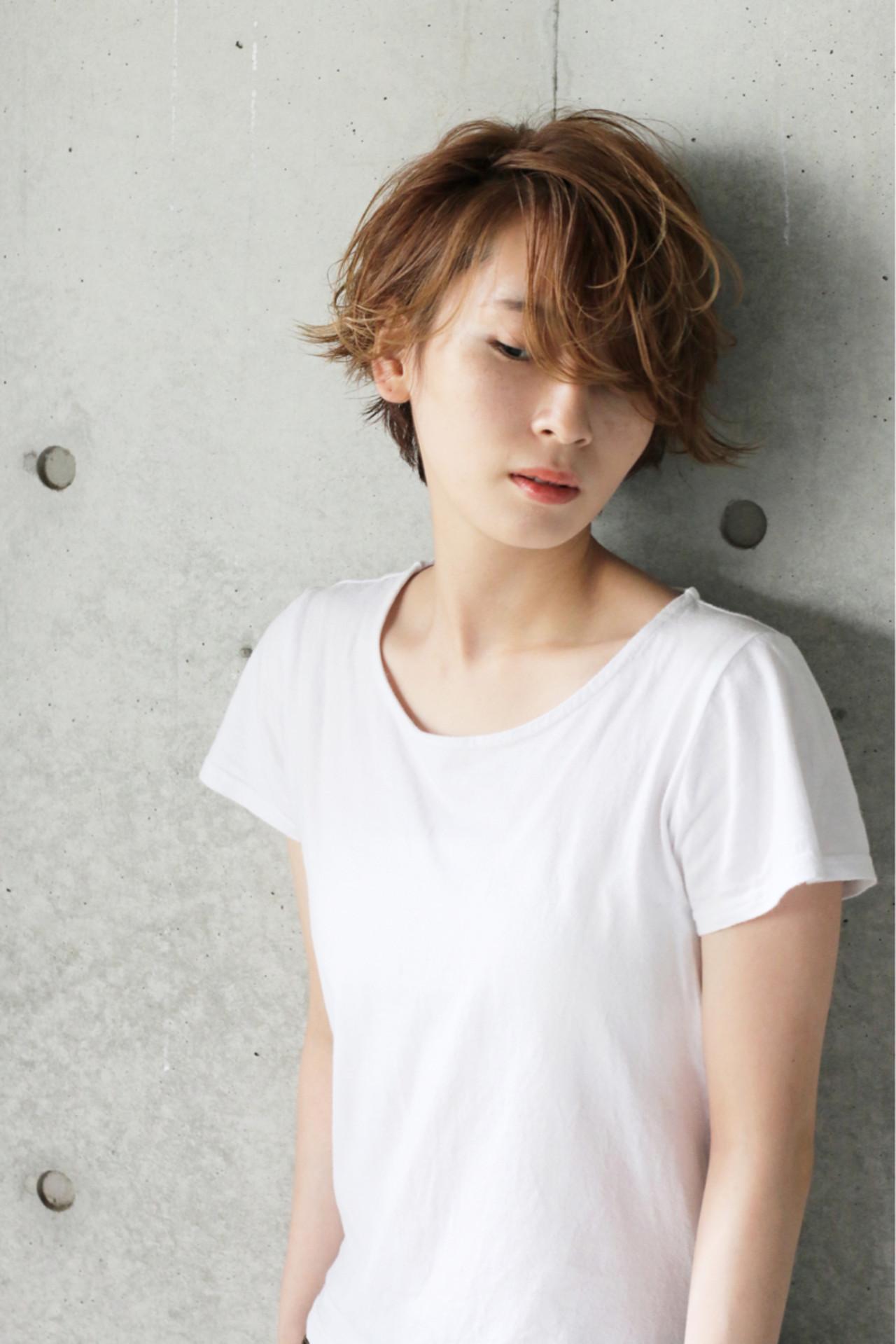 面長さんに人気☆したい髪型を手にいれて ショート職人 伊藤修久 【#tag】