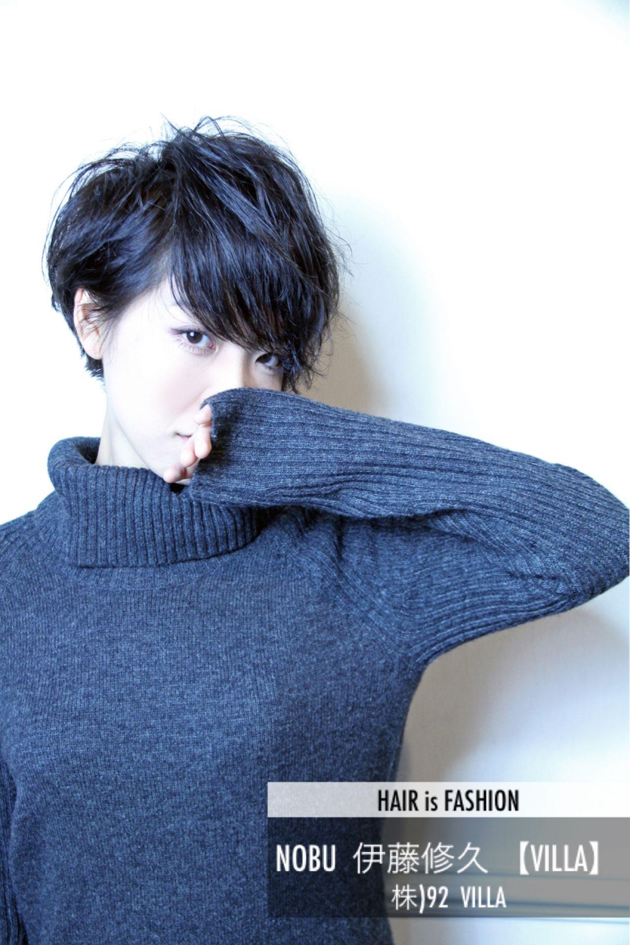 似合わない顔なし!はるさん似のショートヘア ショート職人 伊藤修久 【#tag】