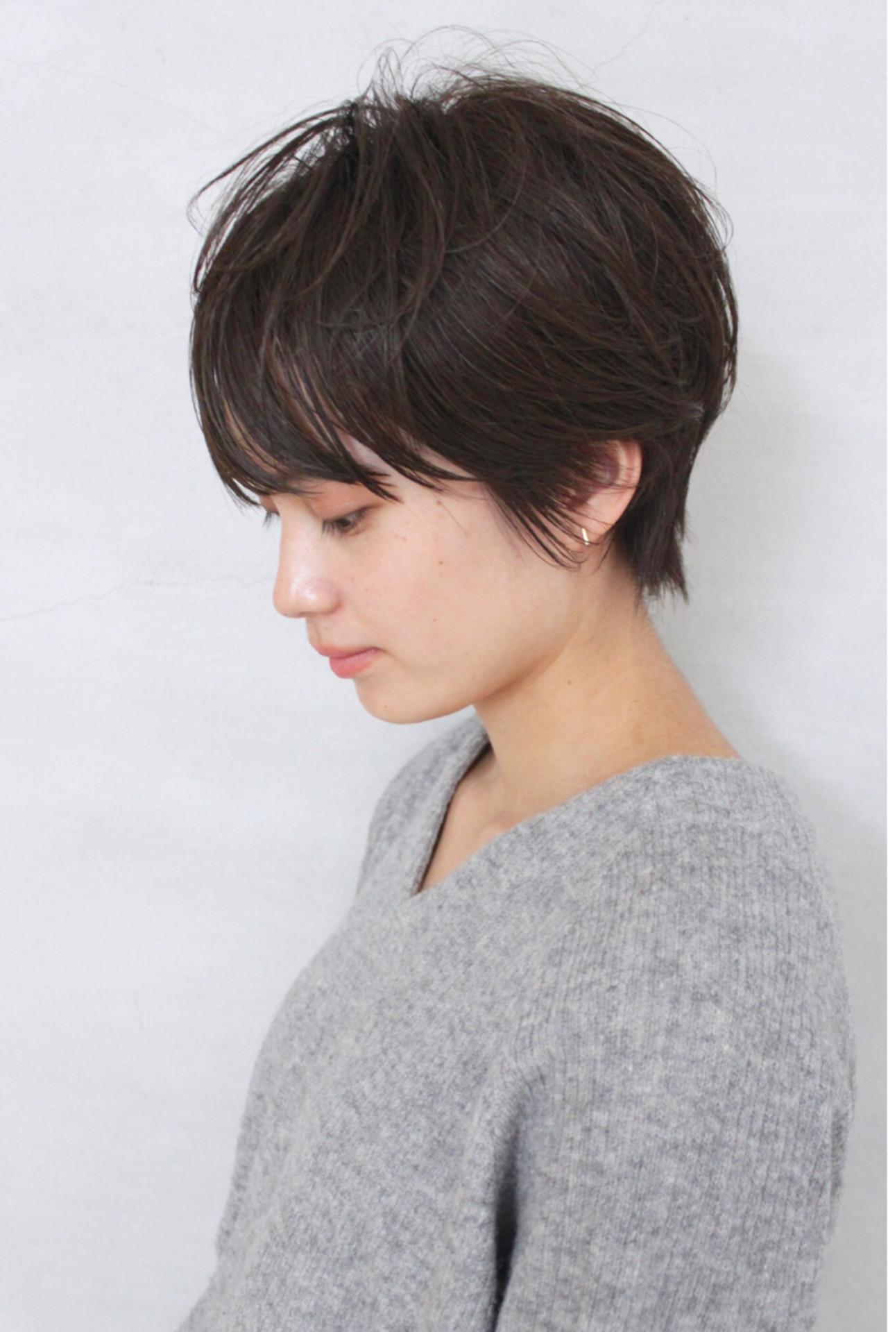 大人女性だから似合う♡オフィスOKのショート okubo shigeru