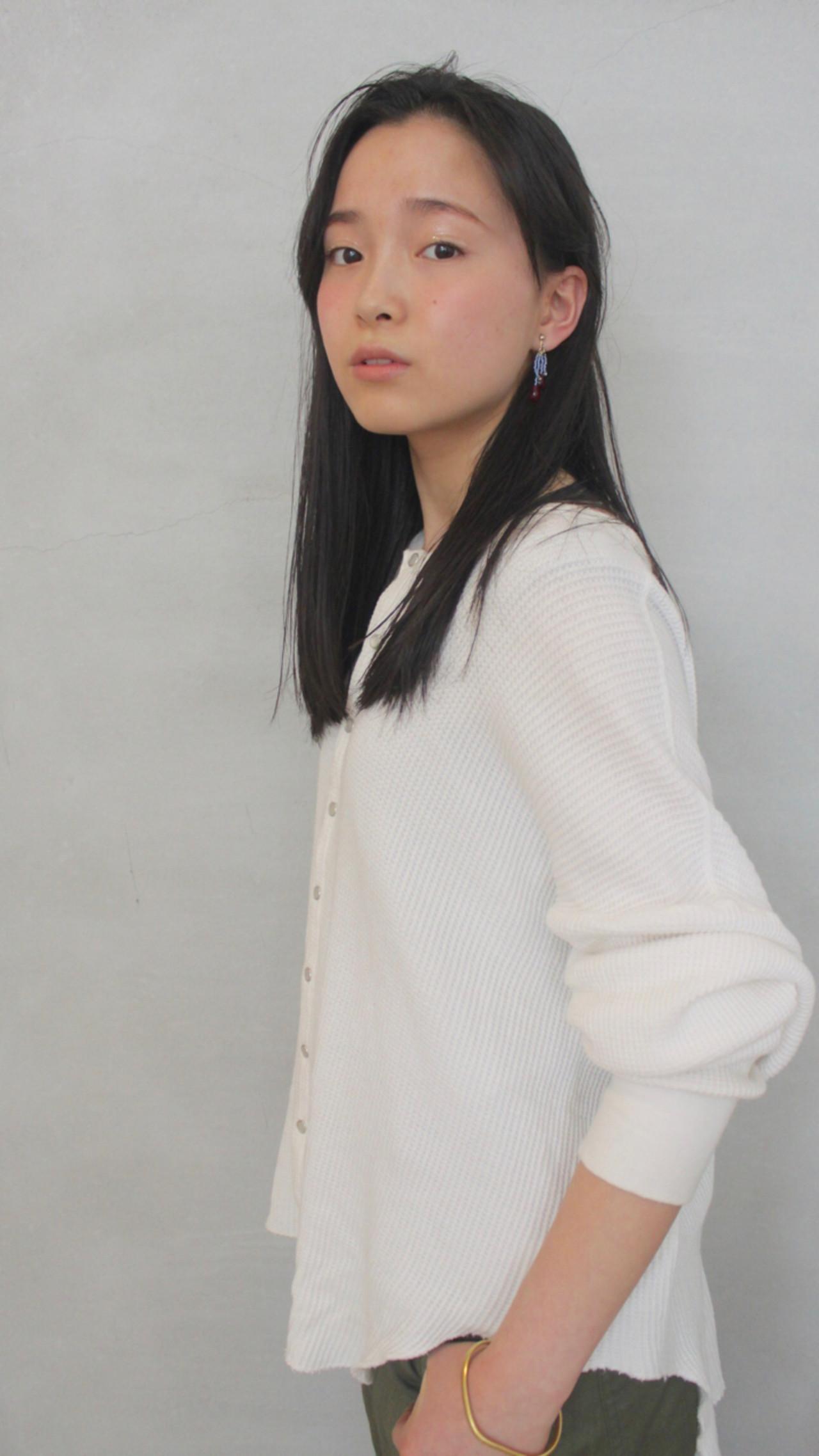 オフィスにピッタリ☆前髪なしで出来る女性を演出♡ okubo shigeru