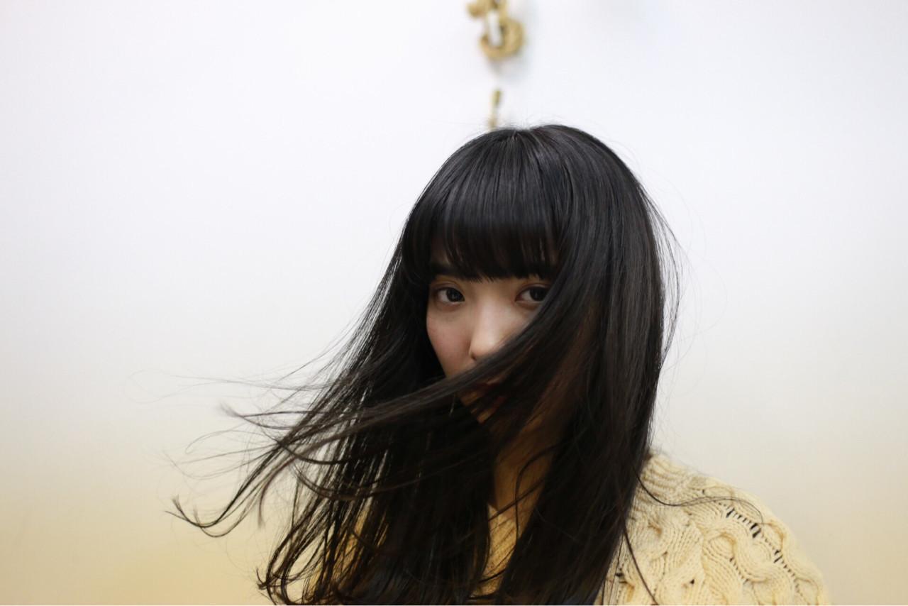 清楚なイメージになれる!黒髪ロングの魅力♡ 井上 拓耶
