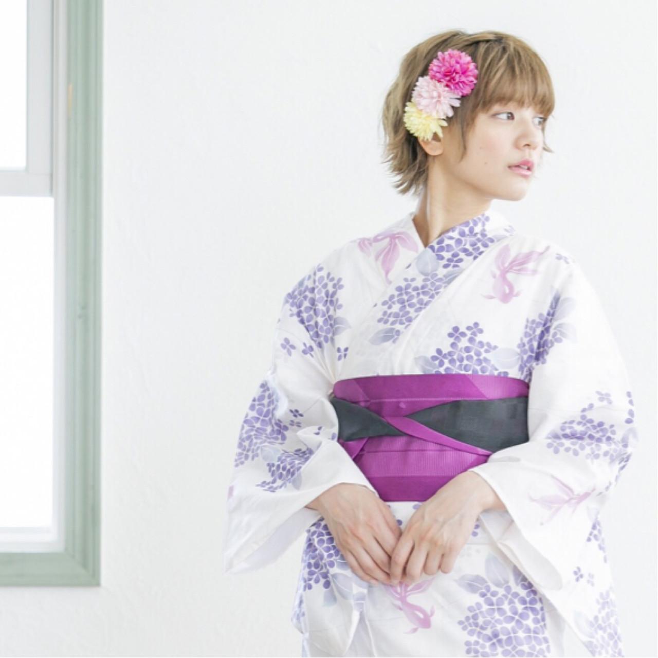 デートで夏祭りに行くなら定番の浴衣コーデ! 石川 瑠利子
